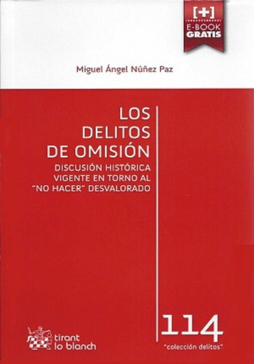 capa do livro los delitos de omision