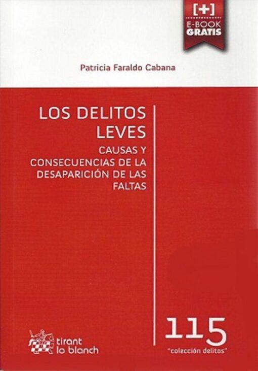 capa do livro Los Delitos Leves