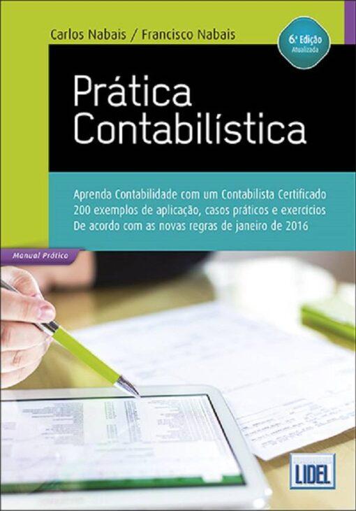 capa do livro Pratica Contabilistica
