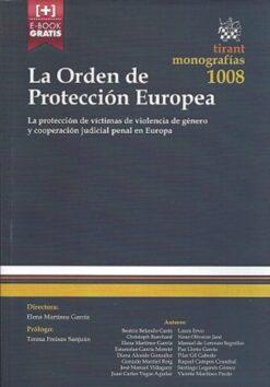 capa do livro La Orden de Protección Europea