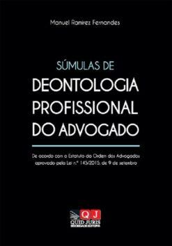 capa do livro Súmulas de Deontologia Profissional do Advogado