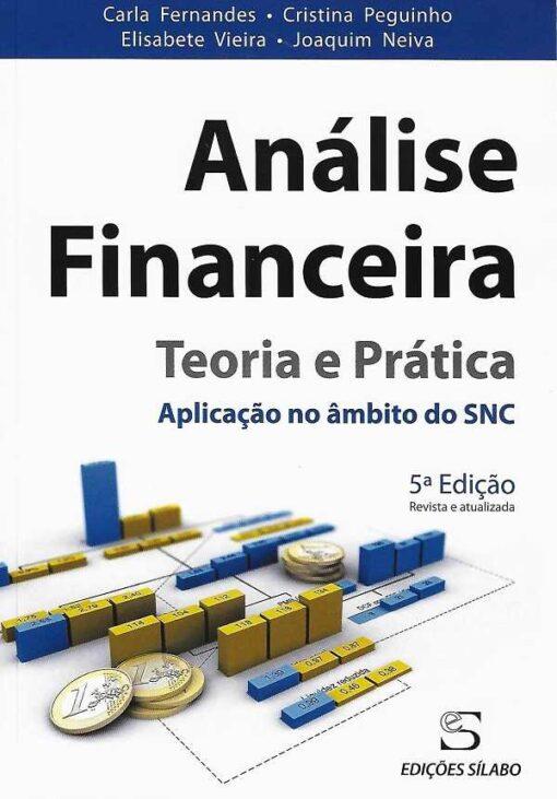 capa do livro análise financeira
