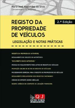 capa do livro Registo da Propriedade de Veículos