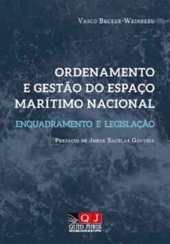 capa do livro Ordenamento e Gestão do Espaço Marítimo e Nacional