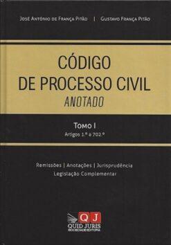 capa do livro Código de Processo Civil Anotado Tomo I Arts 1.º a 702.º
