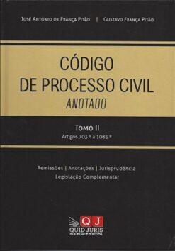 capa do livro Código de Processo Civil Anotado Tomo II - Artigos 703.º a 1085.º