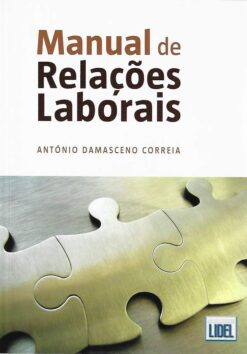 capa do livro Manual de Relações Laborais