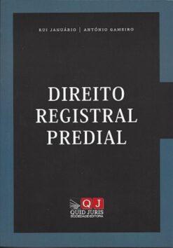 capa do livro Direito registral predial