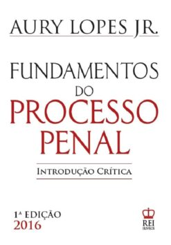 Capa Fundamentos do Processo Penal