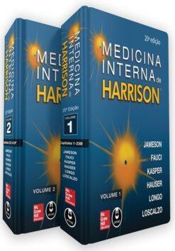 Capa do livro Medicina Interna de Harrison