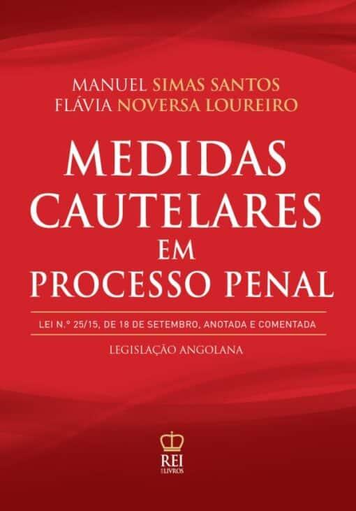 Capa do Livro Medidas Cautelares em Processo Penal