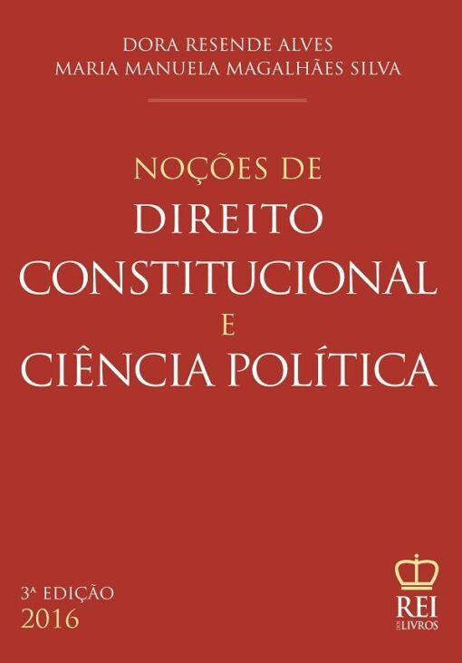capa Noções de Direito Constitucional e Ciência Política