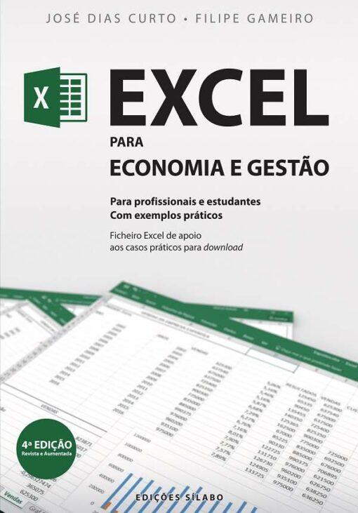 capa do livro excel para economia e gestão
