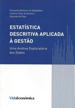 Capa do livro Estatística Descritiva aplicada a gestão