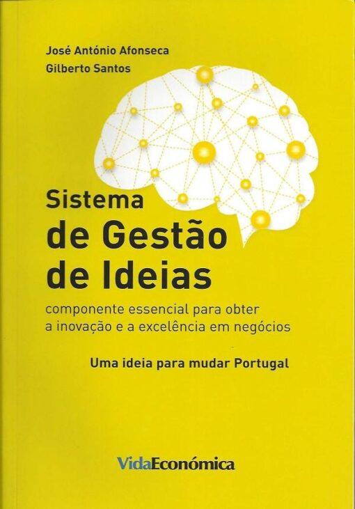 capa do livro sitema de gestão de ideias