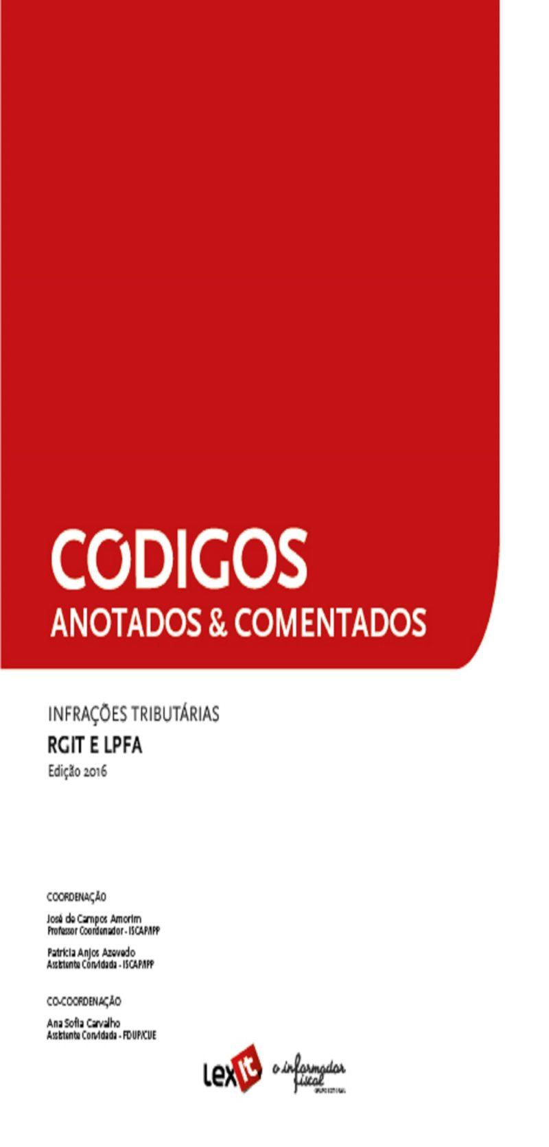 Infrações Tributárias RGIT/LPFA