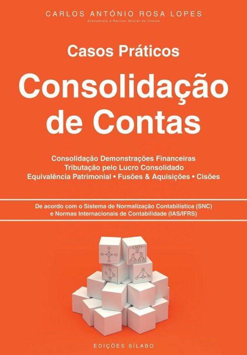 capa do livro Casos Práticos de Consolidação de Contas