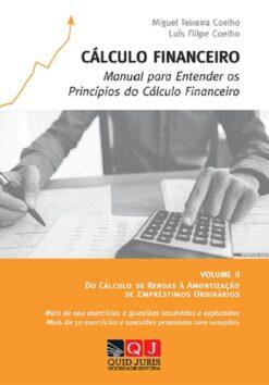 Capa do livro Cálculo Financeiro, Volume 2, Quid Juris