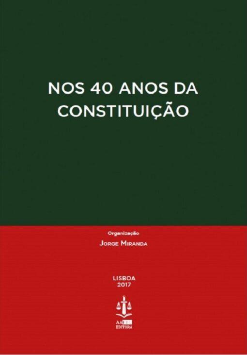 capa do livro Nos 40 Anos da Constituição