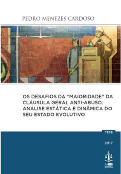 capa do livro Os Desafios da Maioridade da Cláusula Geral Anti- Abuso