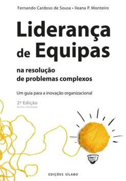 capa do livro Liderança de Equipas na resolução de problemas complexos