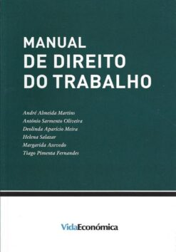 capa do livro Manual de Direito do Trabalho 1ªEdição