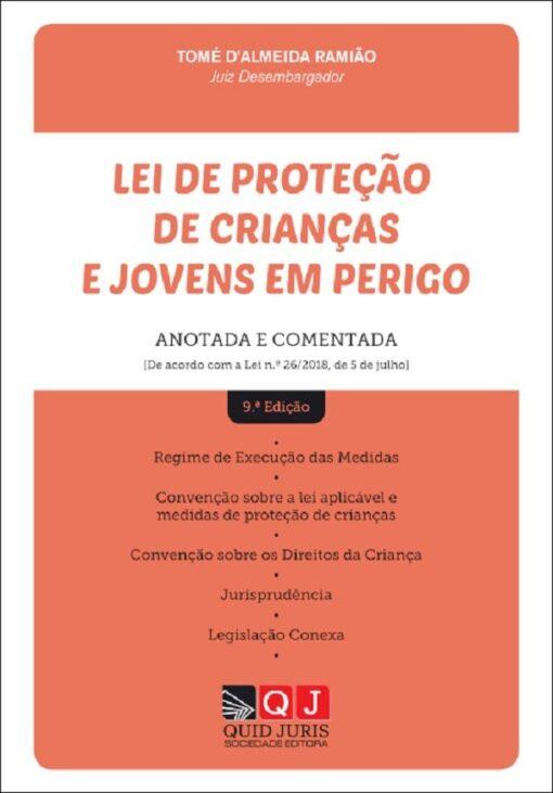 capa do livro Lei de Proteção de Crianças e Jovens em Perigo