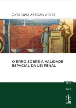 capa do livro O Erro Sobre a Validade Espacial da Lei Penal