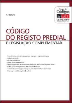 Código do Registo Predial e legislação complementar 6ª