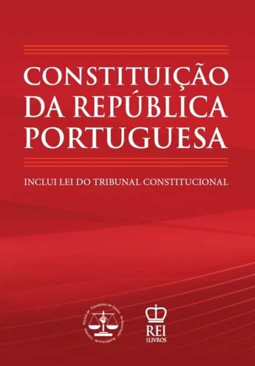 Capa do livro Constituição da República Portuguesa e Lei do Tribunal Constitucional