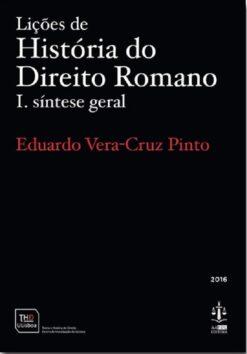 capa do livro Lições de História do Direito Romano