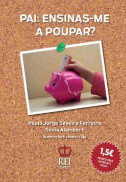 Capa do livro Pai Ensinas-me a Poupar?
