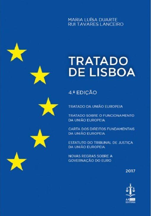 Capa do livro Tratado de Lisboa