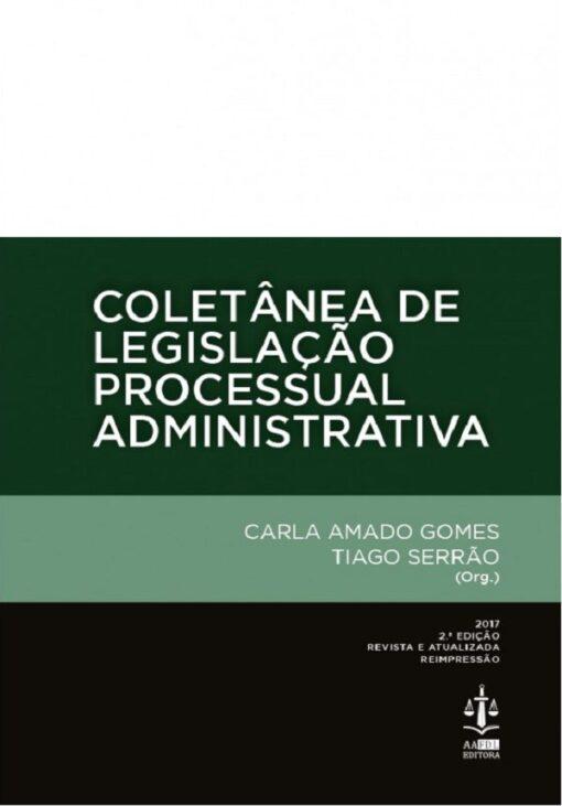 capa do livro Coletânea de Legislação Processual Administrativa