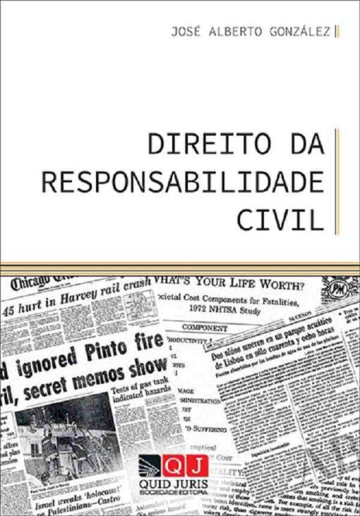 capa do livro Direito da responsabilidade civil