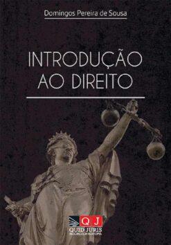 capa do livro Introdução ao Direito