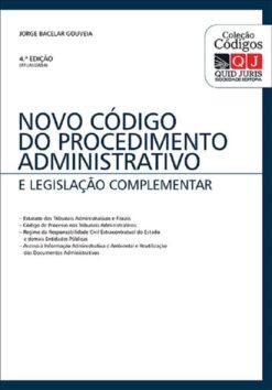 capa do livro Novo codigo do procedimento administrativo