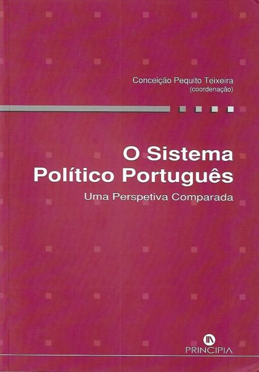 capa do livro O Sistema Político Português