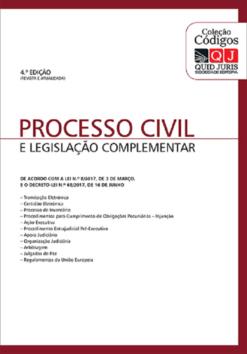 capa do livro Processo Civil e Legislação Complementar