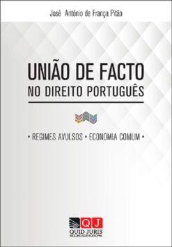 capa do livro União de Facto no Direito Português