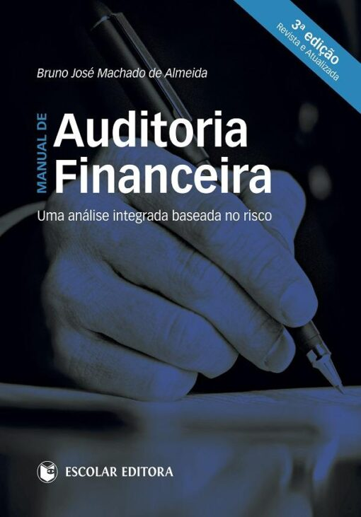 capa do livro manual de auditoria financeira