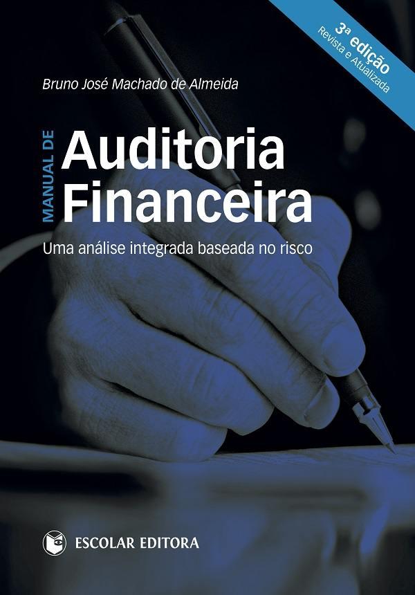 capa do livro manual de auditoria financeira