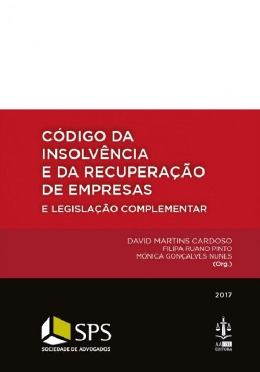 capa do livro Código da Insolvência e da Recuperação de Empresas