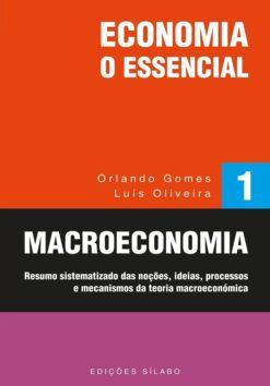 Capa do livro Macroeconomia - Economia: O Essencial