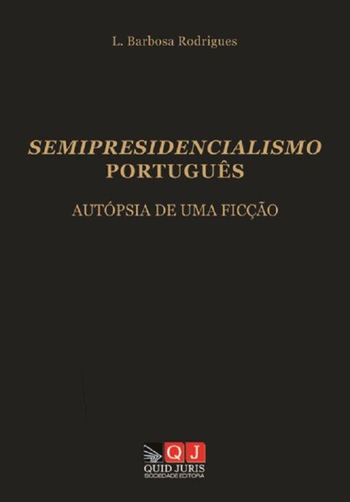 Capa do livro Semipresidencialismo Português