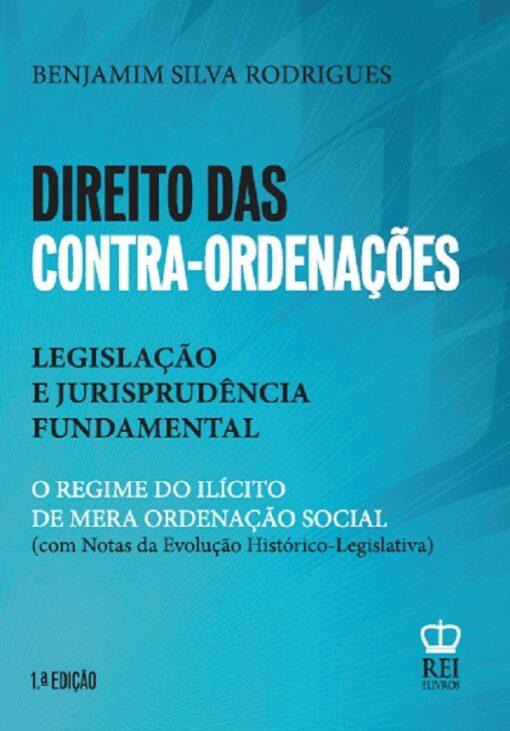 Capa Direito das contra-ordenações Legislação e jurisprudência Fundamental