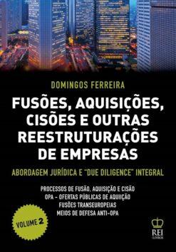 Capa do livro Fusões, Aquisições, Cisões e Outras Reestruturações de Empresas