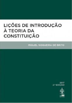 capa do livro Lições de Introdução à Teoria da Constituição