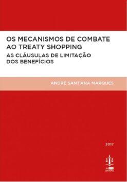 capa do livro Os Mecanismos de Combate ao Treaty Shopping