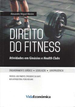 capa do livro direito do fitness